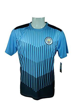 wholesale dealer ae3aa 8e50b Icon Sport Group Manchester City F.C. Adult Soccer Jersey ...
