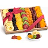 Golden State Fruit Simply Dried Fruit Gift Tray Basket Arrangement Nut Free for Holiday Birthday Healthy Snack Business Gourm