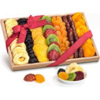 Simply Dried Fruit Gift Tray Basket Arrangement Nut Free for Holiday Birthday Healthy Snack Business Gourmet Food…