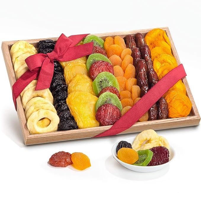Bandeja de regalo de fruta seca.: Amazon.com: Grocery ...