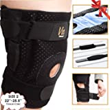 57929a6736 Hinged Knee Brace Plus Size – Newly Engineered Knee Braces with Enhancement  on Flexibility, Extra