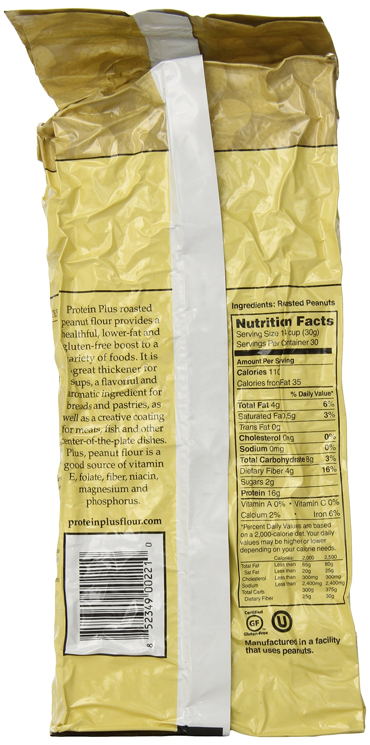 Protein Plus - Roasted All Natural Peanut Flour - 32 oz by Protein Plus (Image #4)