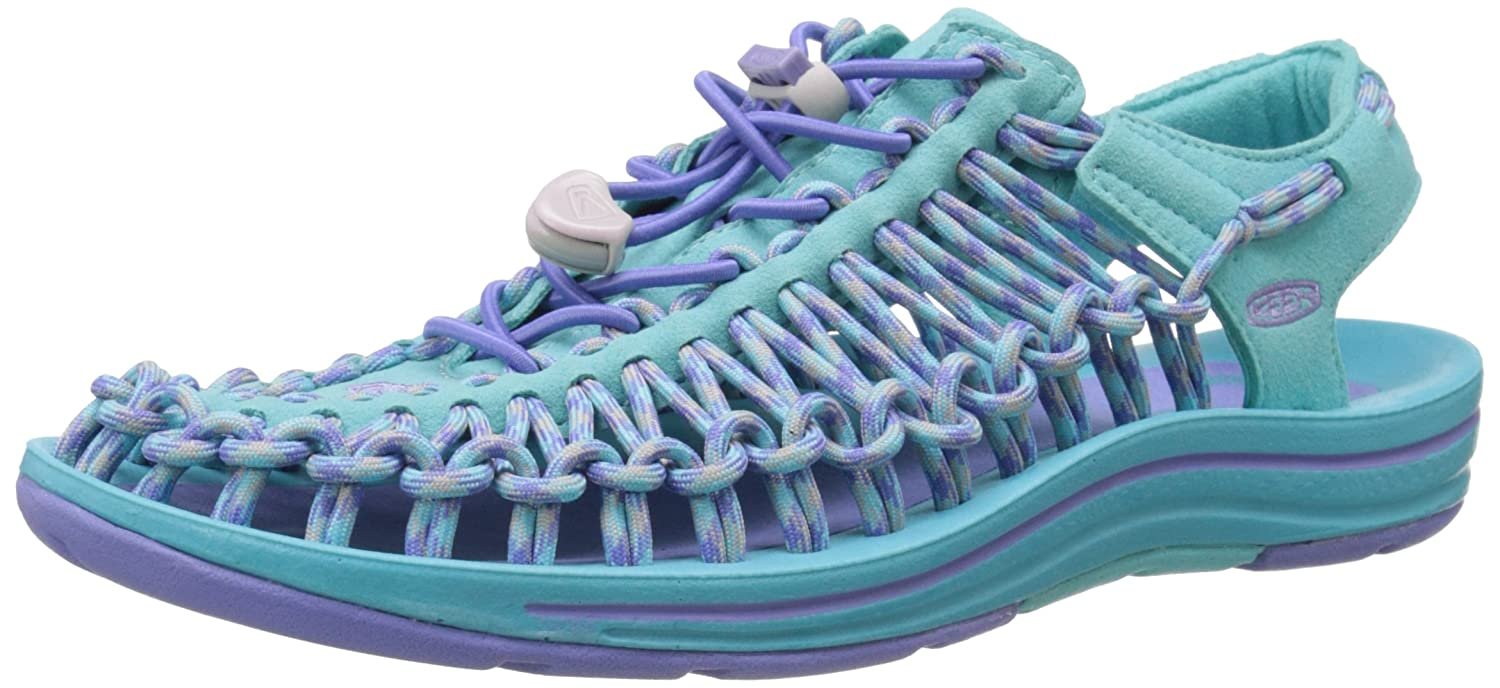 KEEN Women's Uneek 8MM Sandal B00ZG2AJEO 5.5 B(M) US|Capri Breeze/Periwinkle