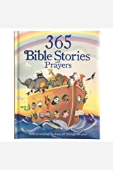 365 Bible and Prayers Padded Treasury - Gift for Easter, Christmas, Communions, Baptism, Birthdays, Ages 3-8 Hardcover