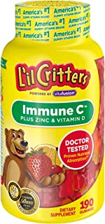 product image for L'il Critters Kids Immune C Plus Zinc and Vitamin D, 190 Count