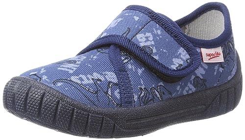 Superfit Bill, Zapatillas de Estar por Casa para Niños, Blau (Nautic Kombi), 25 EU