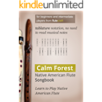 Calm Forest: Native American Flute Songbook book cover