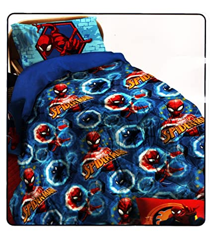 Piumone Invernale Letto Singolo.Trapunta Piumone Invernale Letto Singolo Una 1 Piazza Cm 170 X 260 Spiderman Marvel By Novia