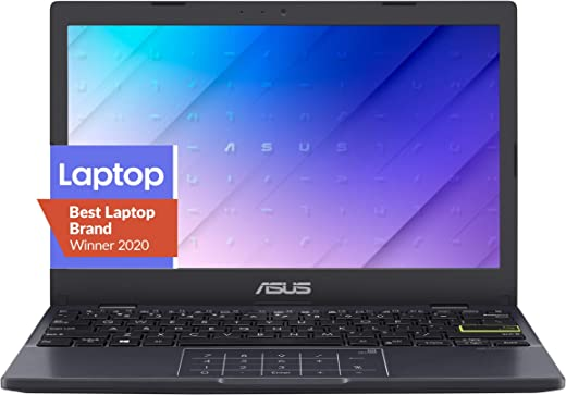 """ASUS Laptop L210 Ultra Thin Laptop, 11.6"""" HD Display, Intel Celeron N4020 Processor, 4GB RAM, 64GB Storage, NumberPad, Windows 10 Home in S Mode with One Year of Microsoft 365 Personal, L210MA-DB01"""