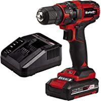 Einhell Taladro destornillador inalámbrico TC-CD 18/35 Li Power X-Change (18V, incluye batería…