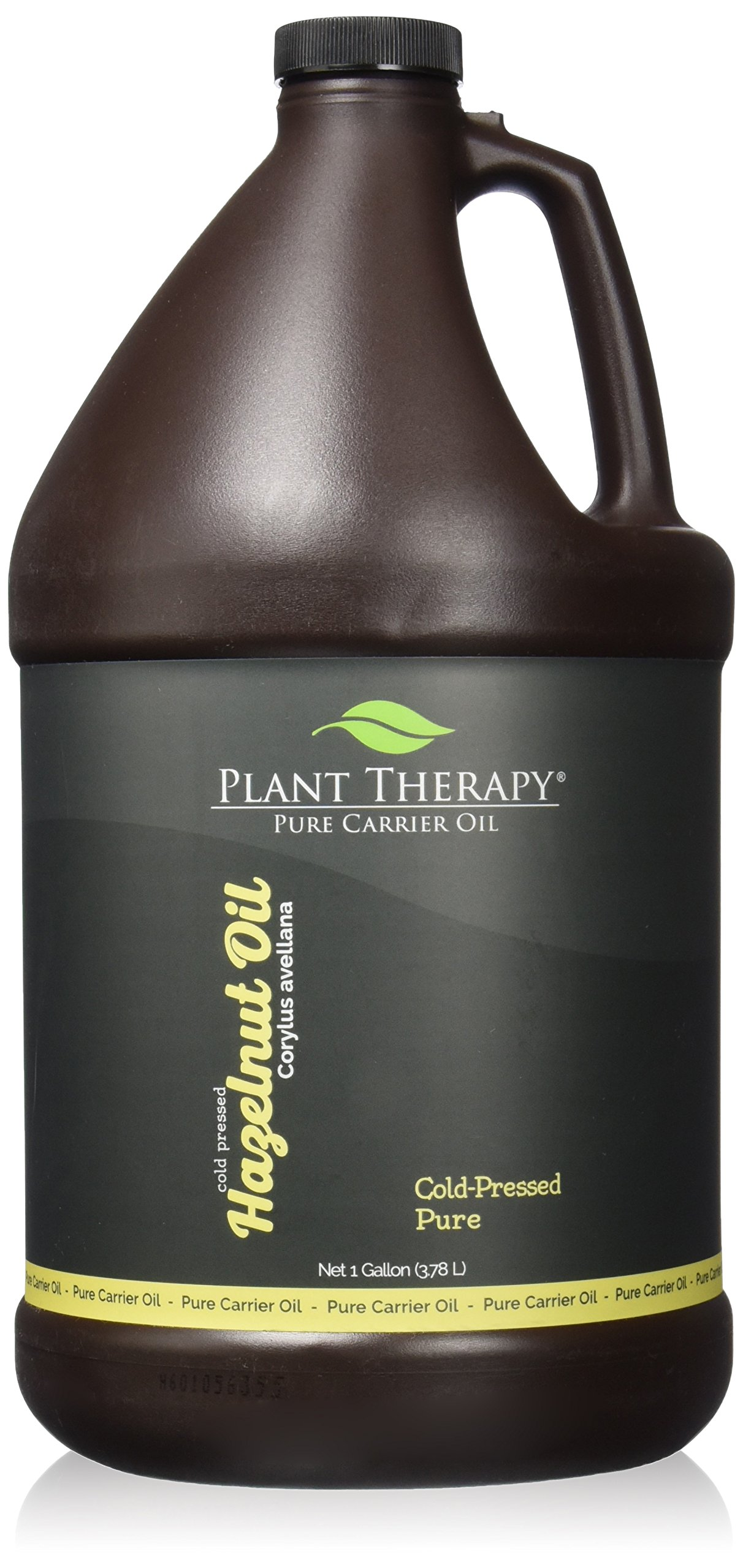Plant Therapy Hazelnut Carrier Oil. A Base Oil for Aromatherapy, Essential Oil or Massage Use. 1 gal.