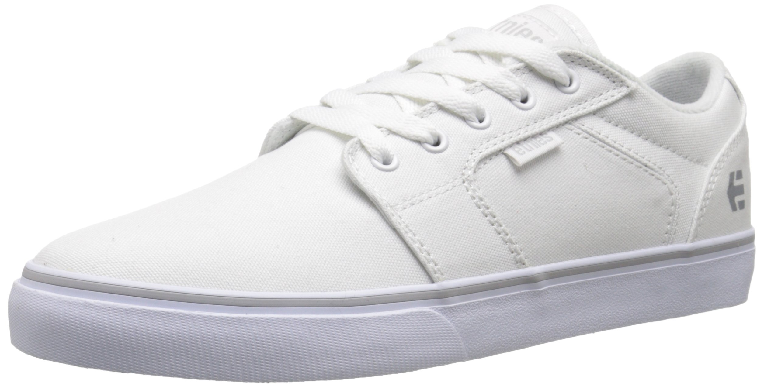 Etnies Women's Barge LS Skate Shoe, White, 7 M US