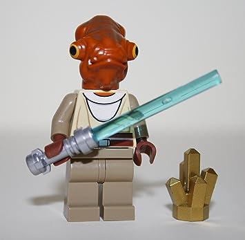 LEGO Star Wars - Figura de Nahdar Vebb (con sable láser y ...