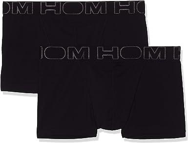 HOM - Para Hombres - Bóxer Briefs Pack de 2 'Boxerlines HO1' - Retro Calzoncillos