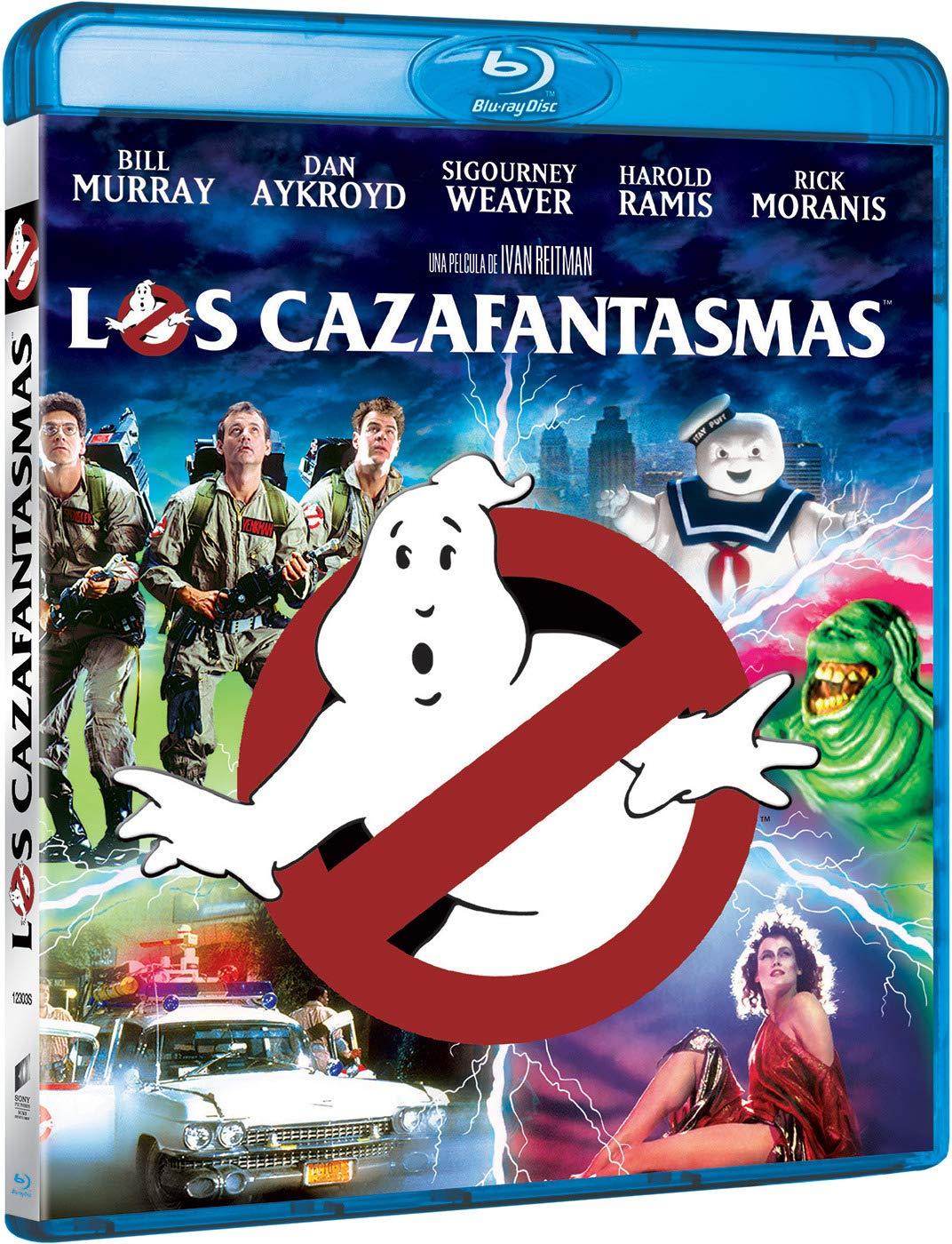 Los Cazafantasmas 1 (Edición 2019) [Blu-ray]: Amazon.es: Bill ...