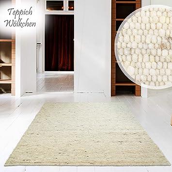 Hand Web Teppich   Reine Schur Wolle Im Skandinavischen Design  Für  Wohnzimmer