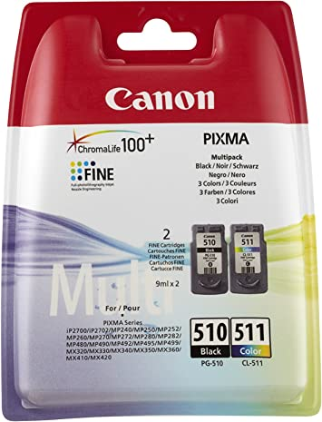 Amazon.com: Canon PG-510 / CL-511 Multi pack: Office Products
