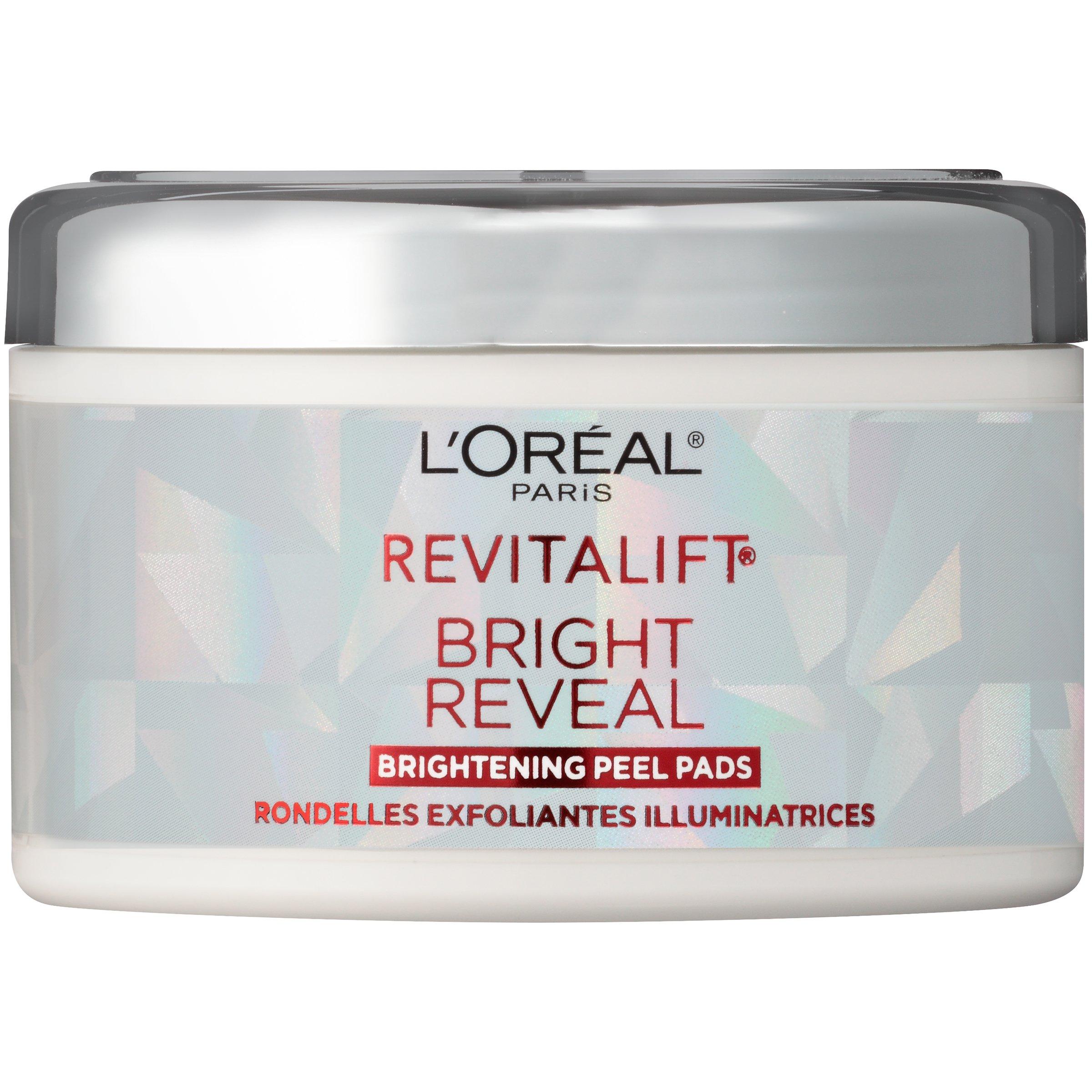 L'Oréal Paris Revitalift Bright Reveal Peel Pads, 30 ct.