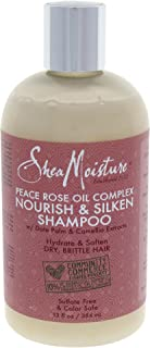 product image for Shea Moisture Peace Rose Oil Complex Nourish & Silken Shampoo for Unisex, 13 Ounce