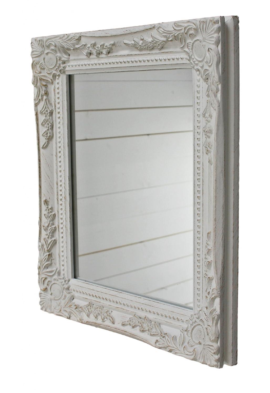 32x27x3cm rectángulo espejo de pared, vendimia-antiguo-marco de ...