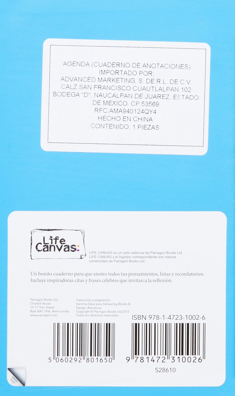 Notebooks Color: Azul (Spanish Edition) (Life Canvas ...