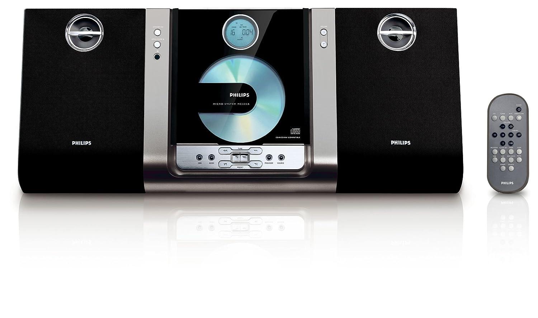 amazon com philips mc235b micro hi fi shelf system black rh amazon com Philips DVD Player Manual Philips Flat TV Manual