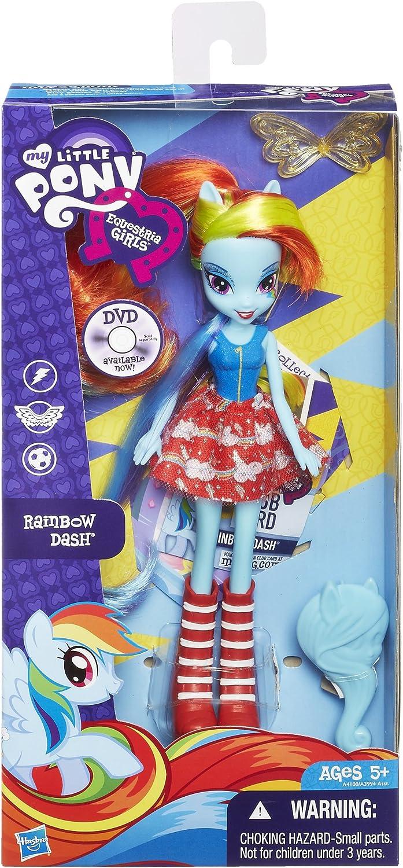 Image 1 of My Little Pony Equestria Girls Rainbow Dash Doll, Hasbro