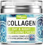 Maryann Organics Collagen Cream - Anti Aging Face Moisturizer - Day
