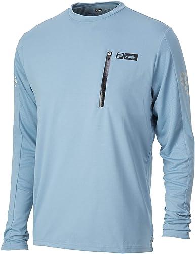 Pelagic Aeroflex de hombres manga larga camiseta de pesca ...
