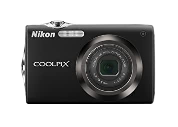 Nikon Coolpix S3000 120mp Digital Camera With 4x Optical Vibration Reduction Vr Zoom And 27 Inch Lcd Black