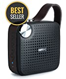 Amazon Prime Best Deals - Premium Portable, Bluetooth Speaker : HIFI MC Micro Music System, by Modern Portable - With Wireless, Premium Sound, Rich Bass, Louder Volume, Waterproof, Mic, Radio - Black