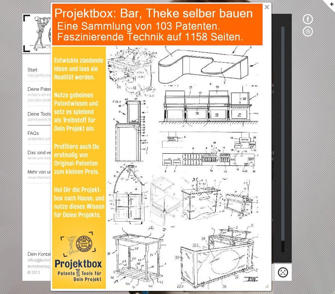 Bar, Theke selber bauen: Deine Projektbox inkl. 103 Original ...