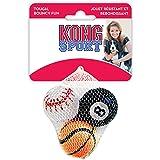 KONG 3-Pack Sport Balls Dog Toy, Assorted