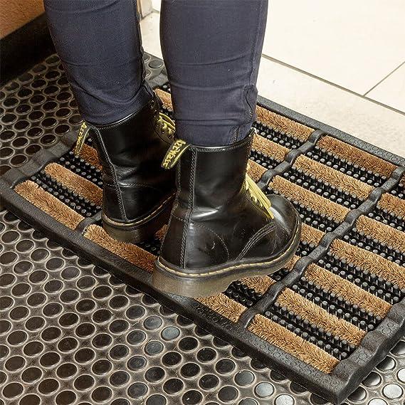 FootMatters Alfombrilla para barro de seguridad (24 x 16 pulgadas): Amazon.es: Hogar