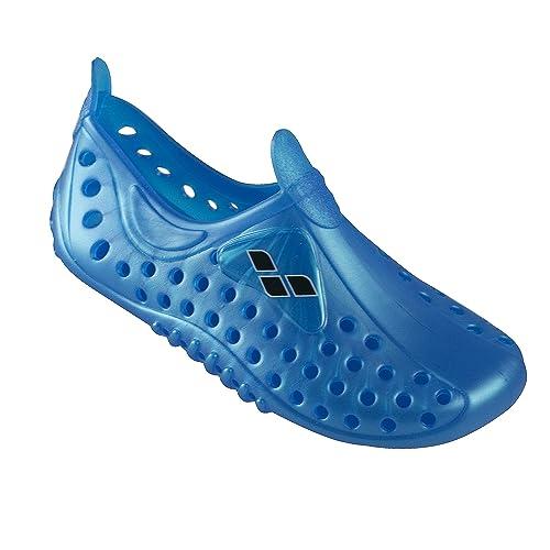 U.Buy - Escarpines de Material Sintético para mujer, color azul, talla 40