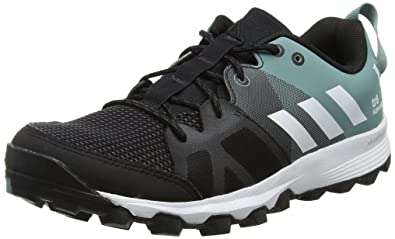 adidas Damen Kanadia 8 TR W Laufschuhe, Schwarz (Color Core Black/White/Vapour Steel), 40 EU