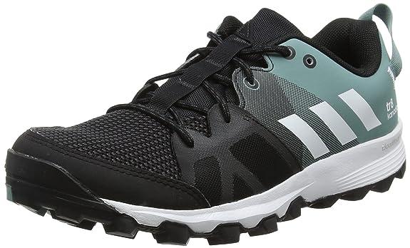 adidas Damen Kanadia 8 TR W Laufschuhe, Black (Negbas/Ftwbla/Rosbah), 39 1/3 EU