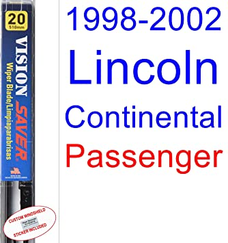 Amazon.com: 1998-2002 Lincoln Continental Wiper Blade (Passenger) (Saver Automotive Products-Vision Saver) (1999,2000,2001): Automotive