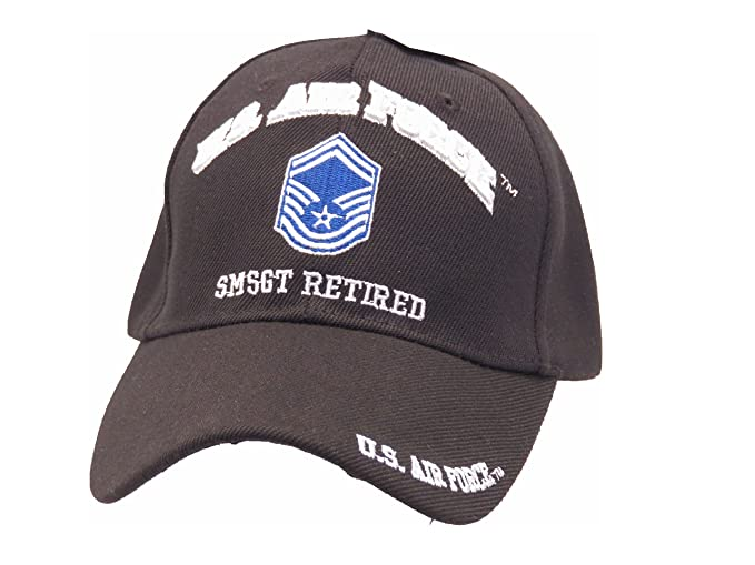 Image Unavailable. Image not available for. Color  US AIR FORCE SMSGT  RETIRED CAP b4408832c0f6