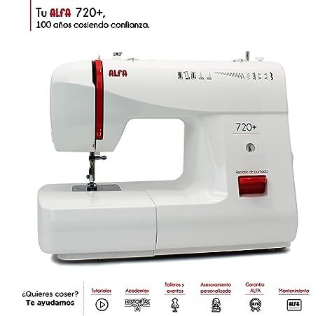 Alfa NEXT 40 Spring - Máquina de coser con 25 puntadas, color azul ...