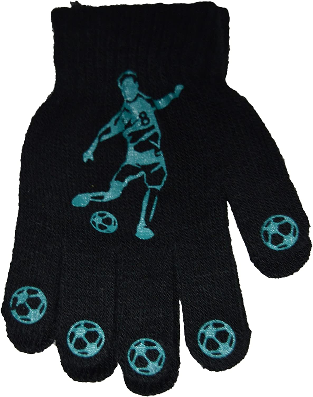 OCTAVE/® Boys Football Design Magic Gripper Gloves Various Colours