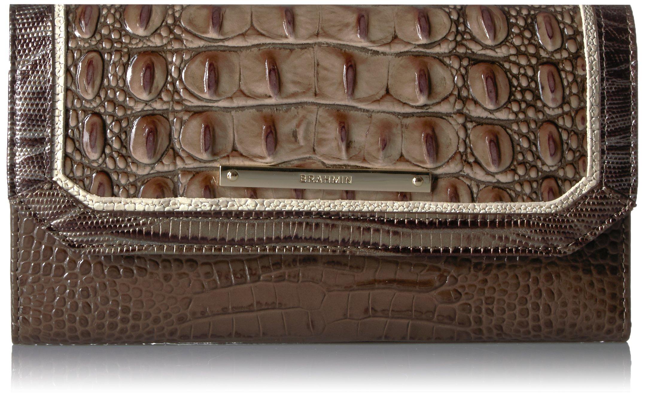 Brahmin Women's Soft Checkbook Wallet Cover, elmwood One Size by Brahmin
