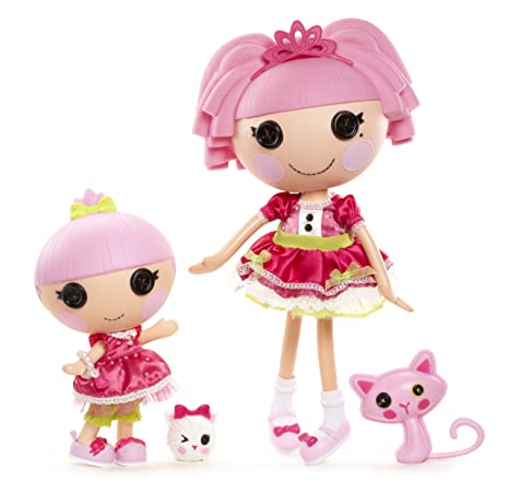 MGA Entertainment 513018GR - Lalaloopsy Littles Doll - Trinket ...