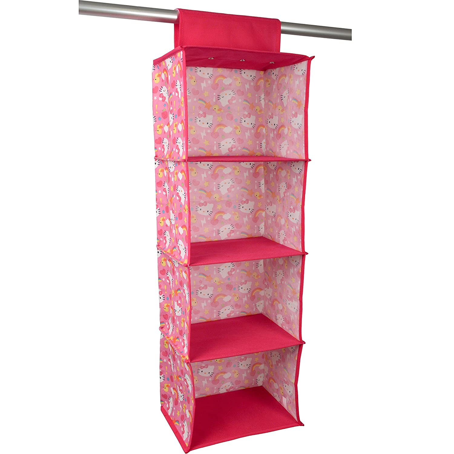 organizer standing hanging shelving closet system adjustable shelves vertical rod itm
