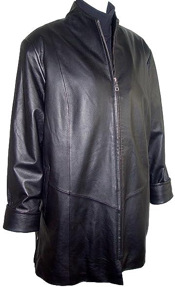Johnnyblue 50011 STANDARD Grade Real Lambskin Leather Swing Coat ...