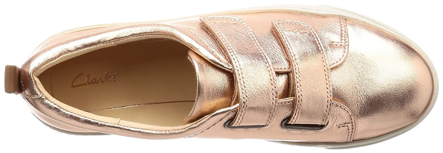 Clarks Damen Glove Gold Daisy Sneaker Gold Glove (Rose Gold) c5d15e