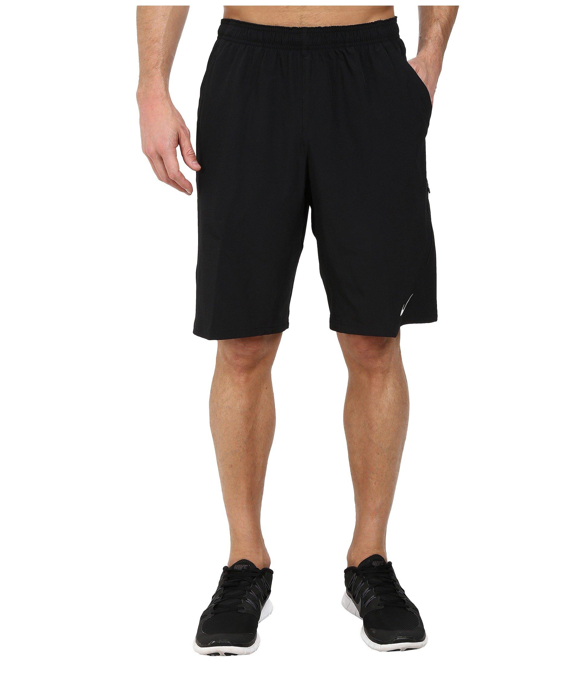 Nike Men's N.E.T 11'' Woven Tennis Shorts (XS, Black)