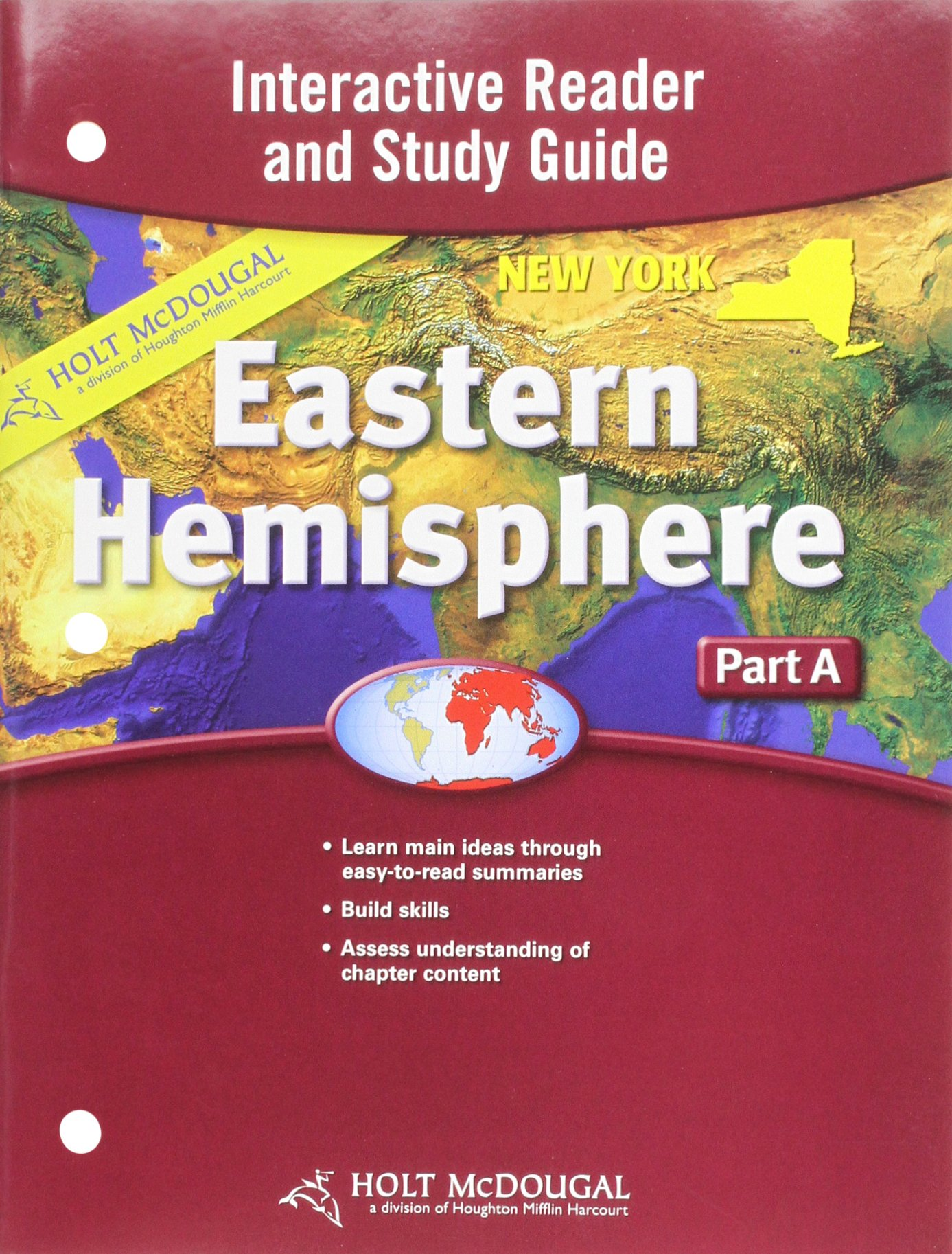 Read Online Holt McDougal Eastern Hemisphere  2009: Interactive Reader and Study Guide: Part A PDF