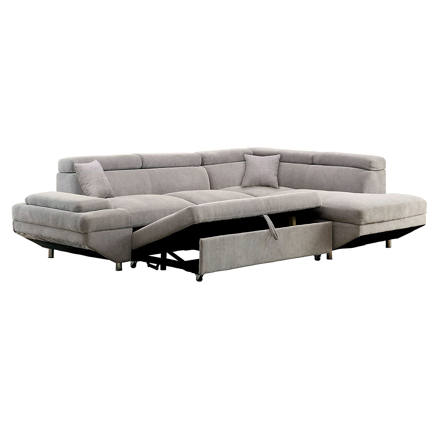Amazon HOMES Inside Out IDF 6124GY SEC Walter s Sectional