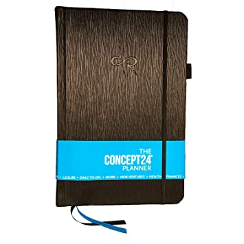 Sale: Crush Your 2019 Goals! The CONCEPT24 Planner: Best Personal Development Journal for Goal Setting, Productivity, Weight Loss & Time Management. ...